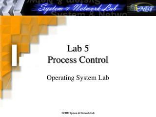 Lab 5 Process Control