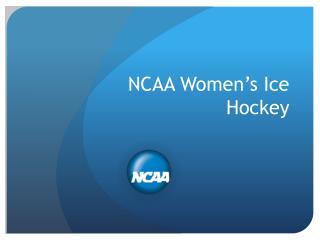 NCAA Women's Ice Hockey
