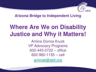 Arizona Bridge to Independent Living