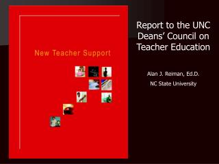 Report to the UNC Deans' Council on Teacher Education