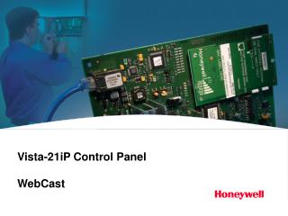 Vista-21iP Control Panel WebCast