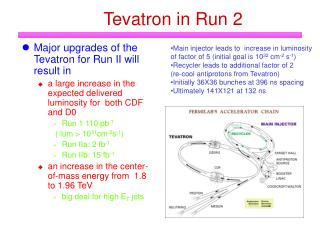 Tevatron in Run 2
