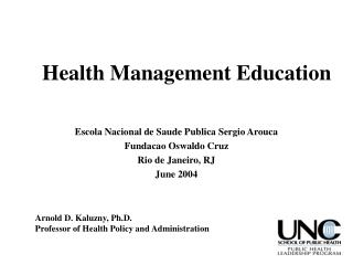 Health Management Education