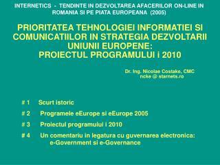 Dr. Ing. Nicolae Costake, CMC