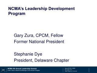 NCMA's Leadership Development Program
