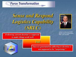 Sense and Respond  Logistics Capability  (SRLC)