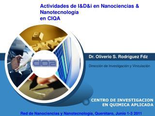 CENTRO DE INVESTIGACION EN QUIMICA APLICADA
