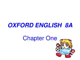 OXFORD ENGLISH  8A