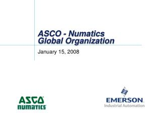 ASCO - Numatics Global Organization
