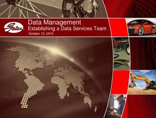 Data Management Establishing a Data Services Team