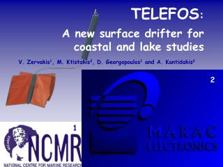TELEFOS :  A new surface drifter for coastal and lake studies