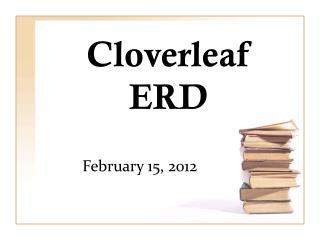 Cloverleaf ERD