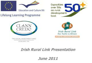 Irish Rural Link Presentation  June 2011