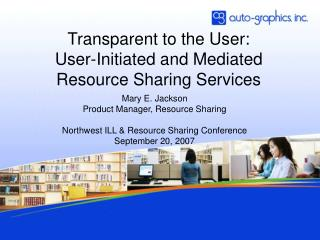 Transparent to the User: User-Initiated and Mediated Resource Sharing Services