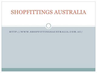 Shopfittings Australia