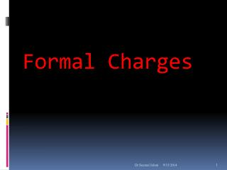 Formal Charges