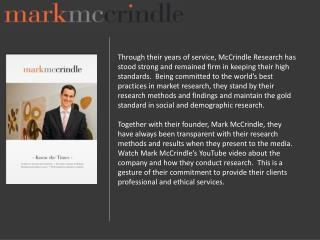 McCrindle Research Pty Ltd