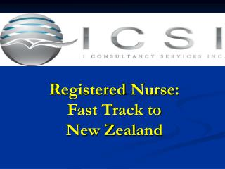 Registered Nurse:  Fast Track to  New Zealand