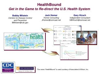 HealthBound  Get in the Game to Re-direct the U.S. Health System