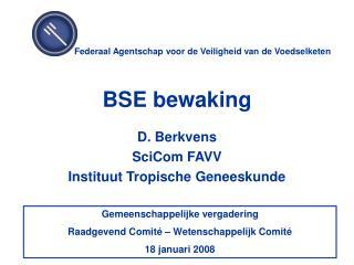 BSE bewaking