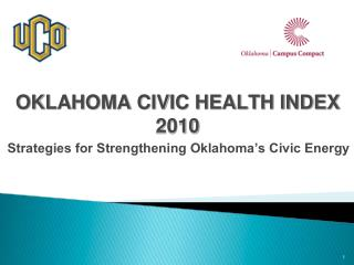 OKLAHOMA CIVIC HEALTH INDEX 2010