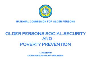 NATIONAL COMMISSION FOR OLDER PERSONS