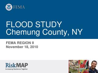 FLOOD STUDY Chemung County, NY