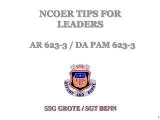 SSG GROTE / SGT BENN