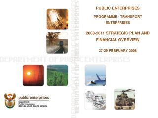 PUBLIC ENTERPRISES PROGRAMME - TRANSPORT ENTERPRISES