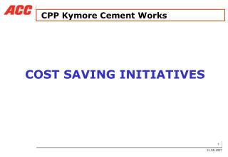 CPP Kymore Cement Works
