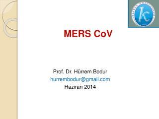 MERS CoV