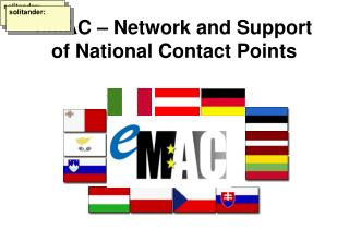 eMAC – Network and Support of National Contact Points