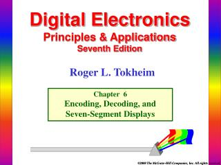 Digital Electronics  Principles  Applications Seventh Edition