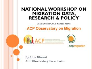 ACP Observatory on Migration