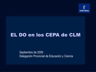 EL DO en los CEPA de CLM