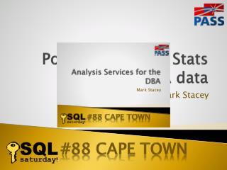 PowerPivot  using Stats SA data