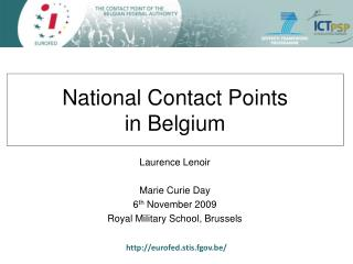 National Contact Points in Belgium