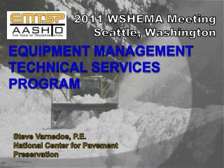 Equipment Management Technical Services Program