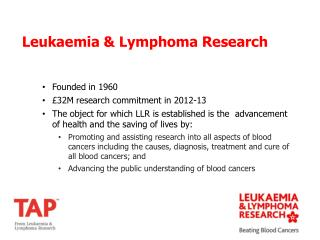 Founded in 1960 £32M research commitment in 2012-13