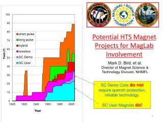 Potential HTS Magnet Projects for MagLab Involvement