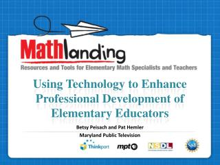 Using Technology to Enhance Professional Development of Elementary Educators