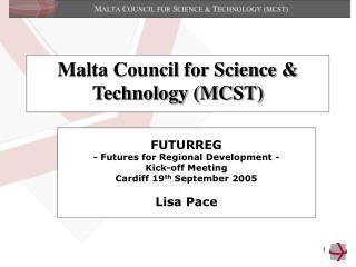 Malta Council for Science & Technology (MCST)