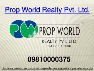 Jaypee Boomerang Resale Price 09810000375 Sector 128 Noida