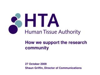 How we support the research community