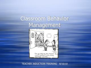 Classroom Behavior Management