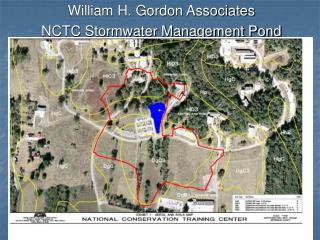 William H. Gordon Associates  NCTC Stormwater Management Pond