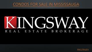 Condos for sale in Mississauga
