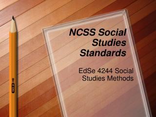 NCSS Social Studies Standards