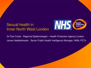 Sexual health in  Inner North West London