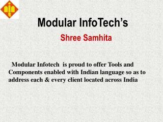 Modular InfoTech s